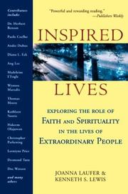 Cover of: Inspired lives