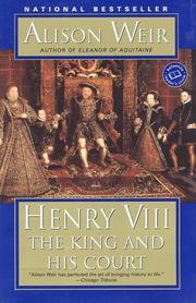 Cover of: Henry VIII: the king and his court