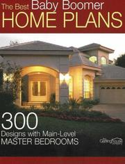 Cover of: The Best Baby Boomer Home Plans | Garlinghouse