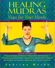 Cover of: Healing mudras