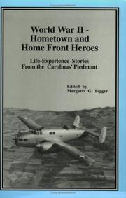 Cover of: World War II-- hometown and home front heroes |