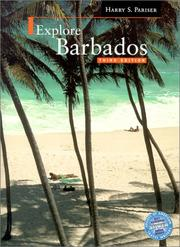 Cover of: Explore Barbados | Harry S. Pariser