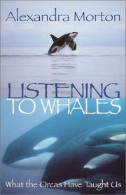 Cover of: Listening to whales