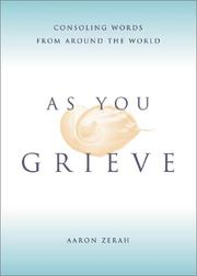 Cover of: As You Grieve | Aaron Zerah