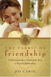 Cover of: The Fabric of Friendship