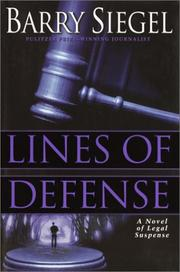 Cover of: Lines of defense
