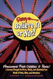 Cover of: Ripley's Believe It or Not! Amusement Park Oddities & Trivia (Ripley's Believe It Or Not!)