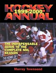 Cover of: The 1999-2000 Hockey Annual | Murry Townsend
