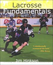 Cover of: Lacrosse Fundamentals