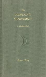 Cover of: The Complaints Department