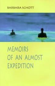 Cover of: Memoirs of an almost expedition