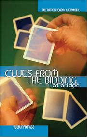 Cover of: Clues from the Bidding at Bridge