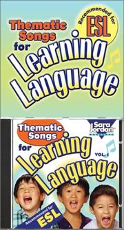 Cover of: Thematic Songs for Learning Language (CD/Book Kit) (Language Arts)