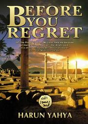 Cover of: Before You Regret
