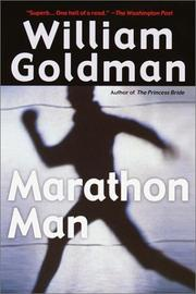 Cover of: Marathon Man