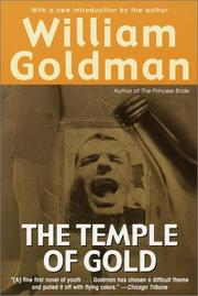 Cover of: William Goldman's The temple of gold