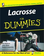 Cover of: Lacrosse for Dummies