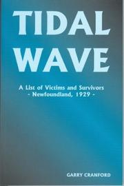 Cover of: Tidal wave