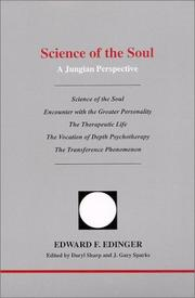 Cover of: Science of the soul