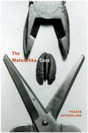 Cover of: The Matuschka Case | Fraser Sutherland