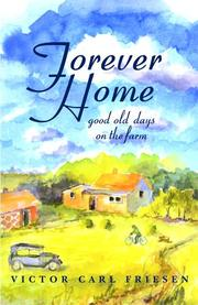 Cover of: Forever home