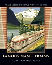 Cover of: Famous Name Trains | David Laurence Jones