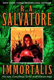 Cover of: Immortalis | R. A. Salvatore