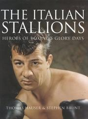 Cover of: The Italian Stallions: Portraits on Canvas, and in Words