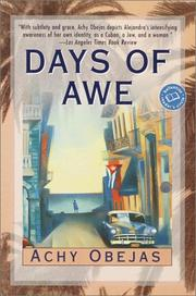 Cover of: Days of Awe