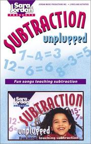 Cover of: Subtraction Unplugged-Minuends to 18 (Unplugged)