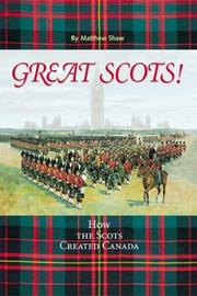 Cover of: Great Scots! | Matthew Shaw
