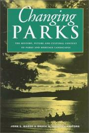 Cover of: Changing Parks |