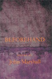 Cover of: Beforehand