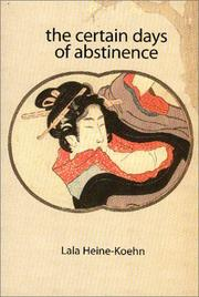 Cover of: The certain days of abstinence