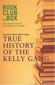 Cover of: Bookclub in a Box Discusses the Novel True History of the Kelly Gang, by Peter Carey (Bookclub-In-A-Box)