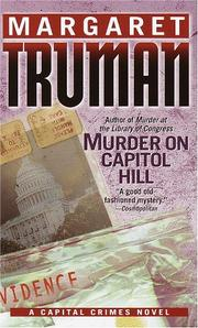 Cover of: Murder on Capitol Hill (Capital Crimes)