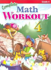Cover of: Complete Math Workout Vol 4 (Complete Math Workout) | Popular Book Company