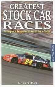 Cover of: Greatest Stock Car Races | Glenda Fordham