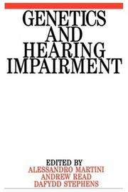 Cover of: Genetics and hearing impairment