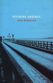 Cover of: Defining absence | John Hildebidle