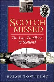 Cover of: Scotch Missed | Brian Townsend