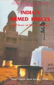 Cover of: India's armed forces: Fifty Years of War and Peace