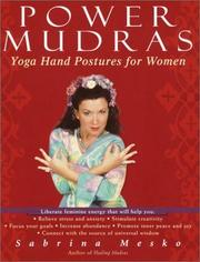 Cover of: Power Mudras