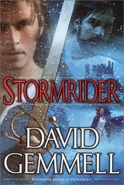 Cover of: Stormrider (Rigante Series, Book 4) | David A. Gemmell