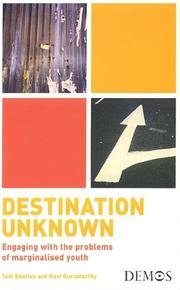 Cover of: Destination unknown