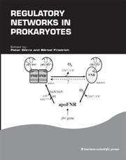 Cover of: Regulatory networks in prokaryotes |