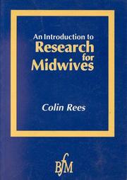 Cover of: An introduction to research for midwives
