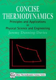Concise Thermodynamics: Principles & Applications In Physical Science & Engineering (Albion Thermodynamics Science Series)
