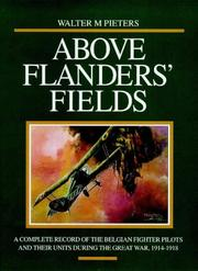 Cover of: Above Flanders' fields