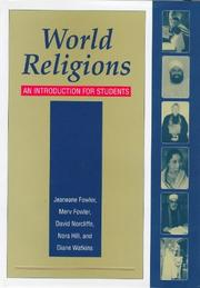 Cover of: World Religions